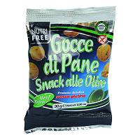 NUTRIFREE Gocce di Pane Snack alle Olive 270 g
