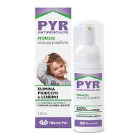 PYR ANTIPEDICUOSI MOUSSE 120ML